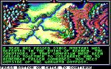 Death Knights of Krynn DOS Main Map - The Story Begins...
