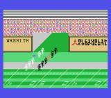 Superbowl MSX The players take the field.