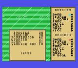 Superbowl MSX Choose your offensive play.