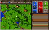 Castles II: Siege & Conquest PC-98 Main map: beginning