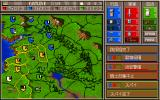 Castles II: Siege & Conquest PC-98 Main map: in the midst of war...