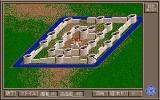 Castles II: Siege & Conquest PC-98 Nice little castle, eh? Moat and all...