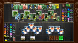 Elements Browser Game field during endgame: my opponent in the top row. I was experimenting with a certain strategy...