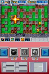 Bomberman Nintendo DS Stage 1, and your bombs aren't all that powerful...