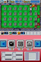 Bomberman Nintendo DS ...but blow up enough blocks and you'll find some power ups that will help you out.
