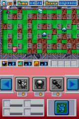 Bomberman Nintendo DS As you progress further in the game, new weird-looking enemies will begin to appear...