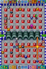 Bomberman Nintendo DS When a player dies, he'll leave all his power ups scattered on the battlefield.