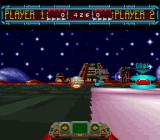 Space Football: One on One SNES Alot of the game is spent just trying to chase down the hoverball