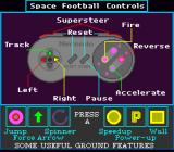 Space Football: One on One SNES Controls