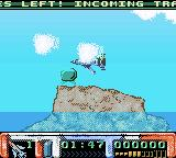 Thunderbirds Game Boy Color A fuel dump.