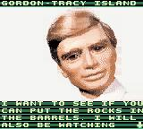 Thunderbirds Game Boy Color Gordon gives you your second mission.