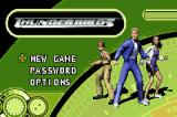 Thunderbirds Game Boy Advance Title screen and main menu