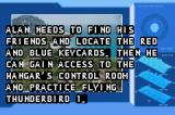 Thunderbirds Game Boy Advance The intro to the first mission.