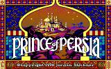 Prince of Persia DOS Title Screen (EGA)
