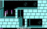 Prince of Persia DOS Thrown in the dungeon (CGA)