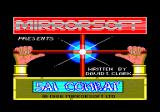Sai Combat Amstrad CPC Loading screen (English version)