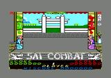 Sai Combat Amstrad CPC Title screen