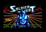 Soldier of Light Amstrad CPC Loading screen