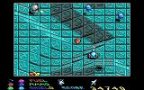 Stargoose Warrior DOS In each of the eight levels you have to collect 6 colored crystals before you can advance. Here's a red one