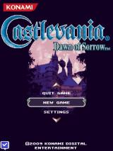 Castlevania: Dawn of Sorrow J2ME Title screen