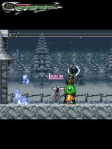 Castlevania: Dawn of Sorrow J2ME Leveling up