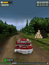 Rally Master Pro J2ME Racing in the forest
