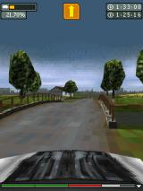 Rally Master Pro J2ME It's also possible to race from a first person perspective