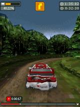 Rally Master Pro J2ME It's started to rain