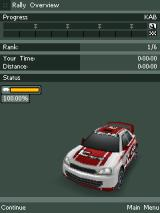 Rally Master Pro J2ME Rally overview