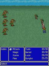 Final Fantasy J2ME I'm being attacked by Goblins.