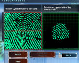 CSI: Crime Scene Investigation - Deadly Intent Windows Comparing two fingerprints