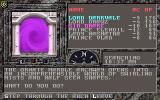 The Dark Queen of Krynn DOS A purple magical portal. In the game the portal is animated.