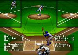 R.B.I. Baseball '93 Genesis The pitched ball in mid-flight