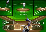 R.B.I. Baseball '93 Genesis The umpire calls a strike