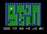 Robbo Atari 8-bit The beginning of the first level. You have to collect 9 screws on this one.