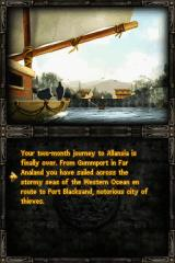 Fighting Fantasy: The Warlock of Firetop Mountain Nintendo DS You then set sail for Allansia...