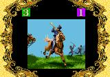 RISK: Parker Brothers' World Conquest Game Genesis A Fast Battle animation 1