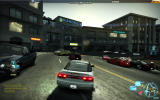 Need for Speed: World Windows Driving through the game world, with many other players around.