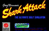 Greg Norman's Shark Attack!: The Ultimate Golf Simulator DOS Title screen (VGA)