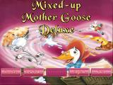Mixed-Up Mother Goose Deluxe Windows 3.x Title screen