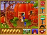 Mixed-Up Mother Goose Deluxe Windows 3.x Pumpkin eater