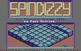 Spindizzy Commodore 64 Title Screen
