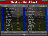 Championship Manager 2: Including Season 96/97 Updates DOS Manchester United squad