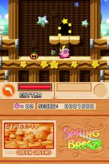 Kirby Super Star Ultra Nintendo DS Swallow enemies, absorb their powers. You know the drill.