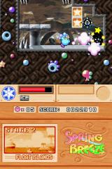 Kirby Super Star Ultra Nintendo DS Ice breath.