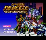 Jim Lee's WildC.A.T.S: Covert Action Teams SNES Title Screen