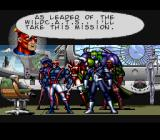 Jim Lee's WildC.A.T.S: Covert Action Teams SNES Each level opens with an introduction at Halo Corp.