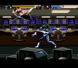 Jim Lee's WildC.A.T.S: Covert Action Teams SNES Warblade has all of Spartan's basic moves, but lacks a ranged attack.