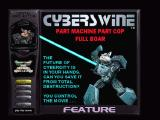 Cyberswine Windows Main menu and control screen