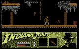 Indiana Jones and the Last Crusade: The Action Game Commodore 64 Beginning the game
